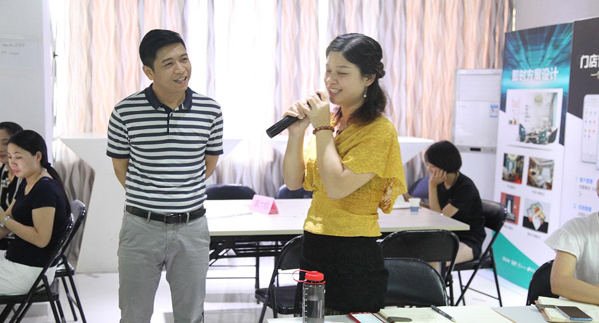 伊莎莱-6月新店总部培训