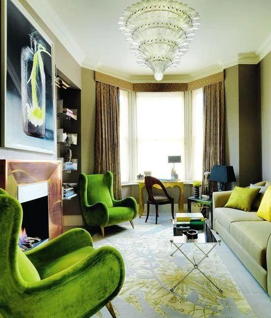 绚彩烂漫橄榄绿,绽放家居中宁静的别样色彩!