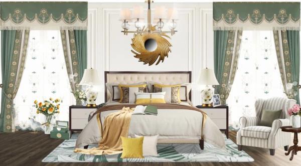 万博manbetx水晶宫墙布搭配有默契,布置家居干活不累