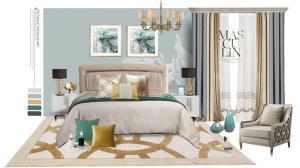 用好卧室4大用色规律,过上网红家居生活!